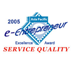 E-Entrepreneur Excellence Award 2005 Service Quality